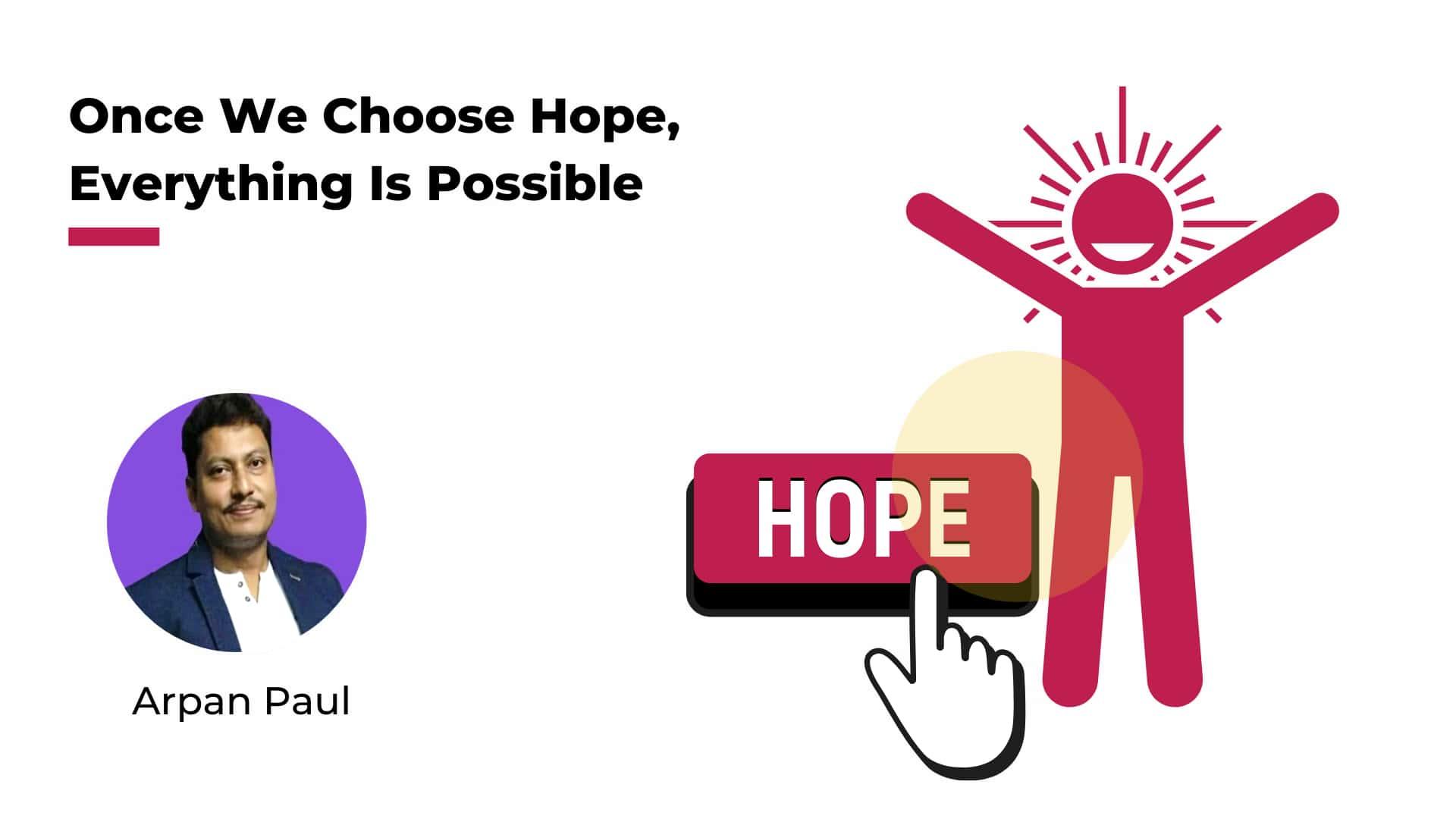 Hope and Self-belief