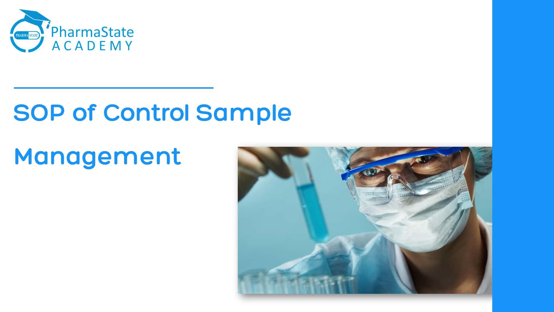 handling of Control Sample