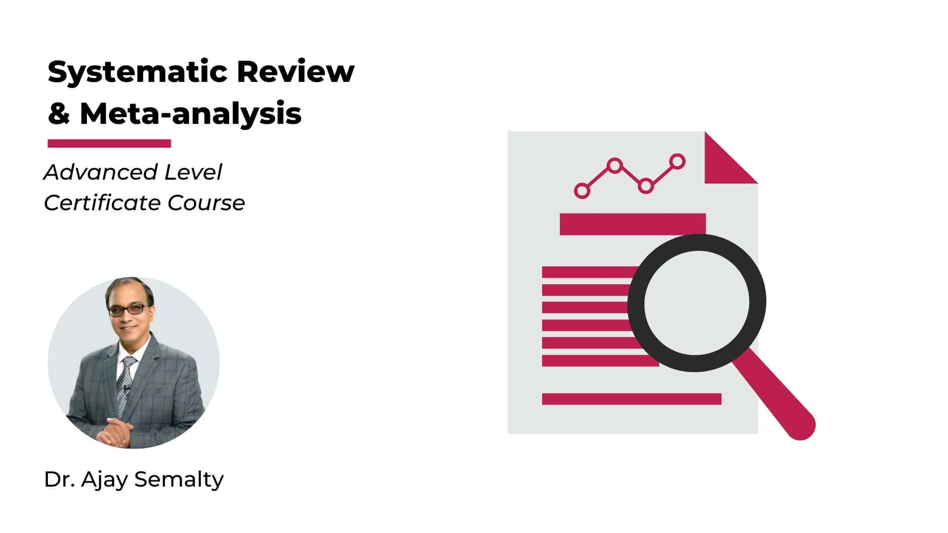 Systemetic Review and Meta Analysis